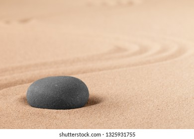 Mineral stone therapy for a quit peace of mind through zen meditation and relaxation. Spa wellness or reiki spiritual healing of Mind body and soul, mindfulness.