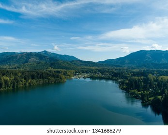 Mineral Washington Small Town Mountain Forest Lake