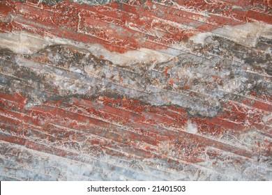 minerals background (wall of salt mine)