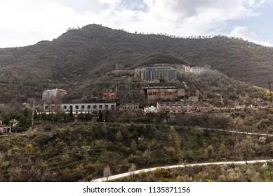 The mines of Akhtala, Armenia
