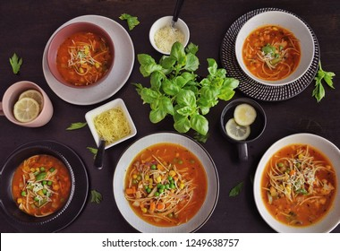 Minestrone soup - healthy soup