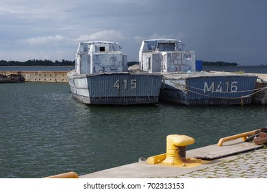 Minesweepers M415 Olev and M416 in Harbour Tallinn, August 2017.