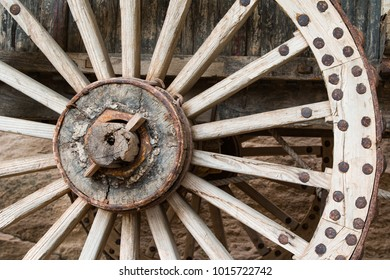 Ming Dynasty wooden wheel, China
