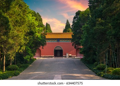 Ming Xiaoling Mausoleum, the tomb of the founder of the Ming Dynasty, in Nanjing, China.