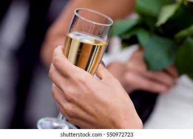 Mingle at wedding reception