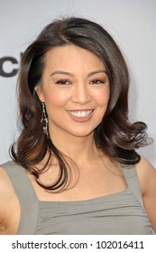 Ming-Na at The Cable Show 2010: An Evening With NBC Universal, Universal Studios, Universal City, CA. 05-12-10