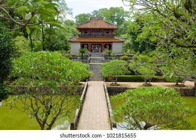 Minh Lau Pavilion in Hue, Vietnam.