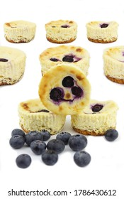 Mini blue berry cheese cakes