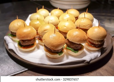 Carte Burger King Perigueux.Mini Canapes Stock Photos Images Photography Shutterstock