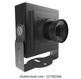 Mini camera with mount
