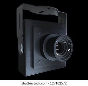Mini camera with mount