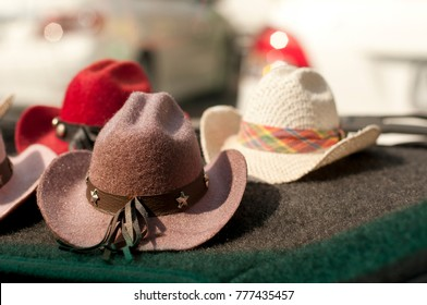 dc8f06fea56 Mini cowboy hat collection in various material and design for interior  decoration