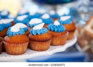 Mini cupcakes party tray
