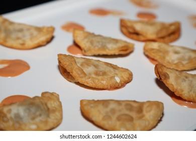 Mini empanada appetizer
