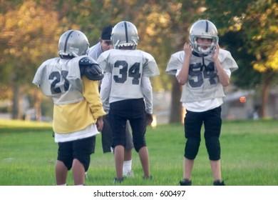 mini football players