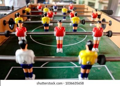 Mini Football Table, Tabletop Soccer Table