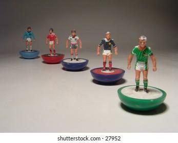 Mini footballers