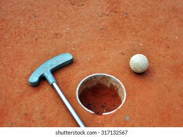 Mini golf background