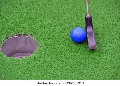 Mini golf leisure fun