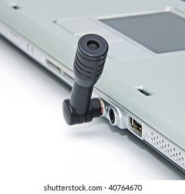 A mini microphone for a laptop and home computer