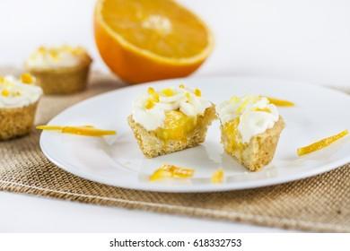 Mini Orange Curd Tarts