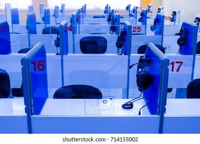Mini sound lab classroom in school.