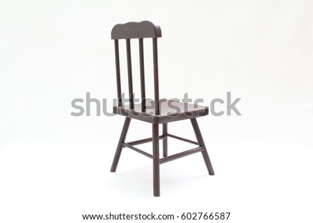 Miniature Antique Chair Chairs