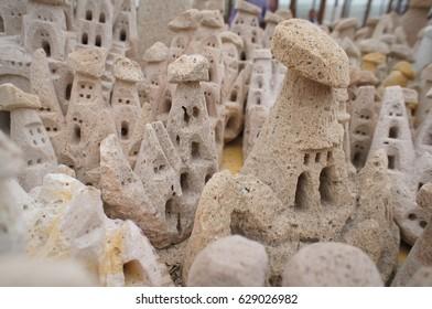 Miniature Fairy Chimneys in Cappadocia