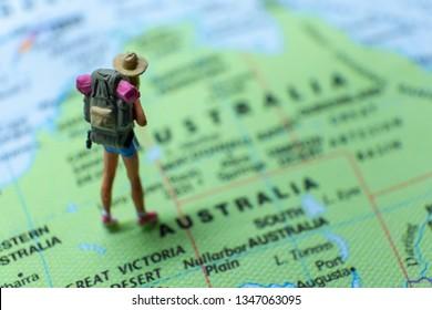 Young Australia Map.Fotos Imagenes Y Otros Productos Fotograficos De Stock Sobre
