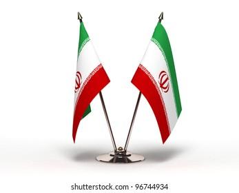 Miniature Flag of Iran