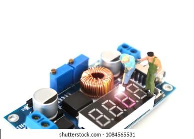 miniature circuit board Images, Stock Photos & Vectors