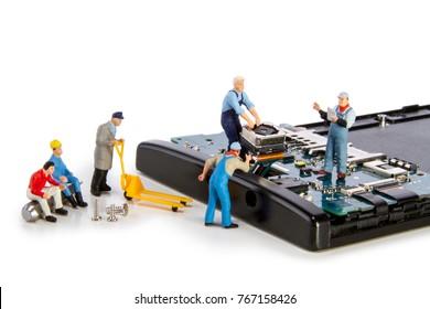 Miniature - repair electronic