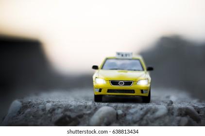 Miniature Taxi
