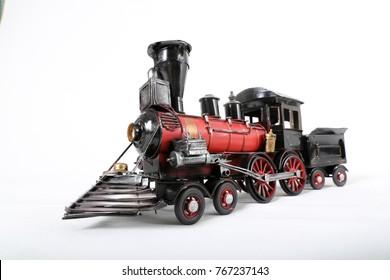 Miniature Toy Steam Locomotive Train Engine