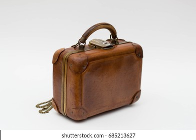 Miniature vintage luggage