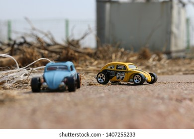 miniature of volkswagen 1:64 scale by hotwheels toys. pyeongtaek date taken : 08/07/2017