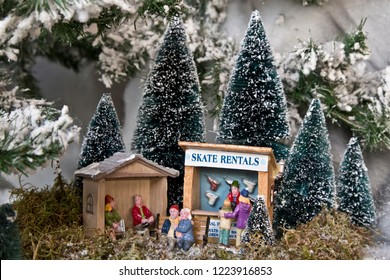 Miniature wold: skate rentals