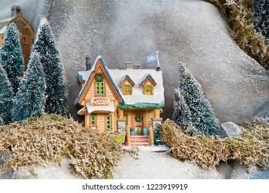 Miniature world: house