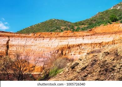 Miniera Monteponi Minery at Buggerru, Sardinia, Italy