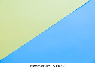 Minimal flat lay Abstract geometric paper pastel background for copy space. top view