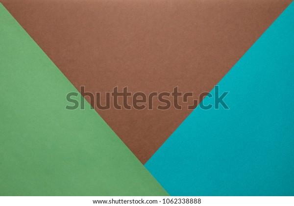 minimal geometric paper background .