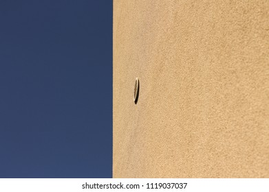 Minimal view of a vent (Pesaro, Italy)