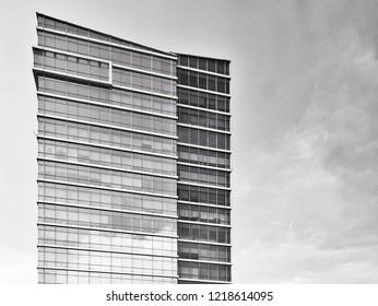 Minimalis building in Jakarta
