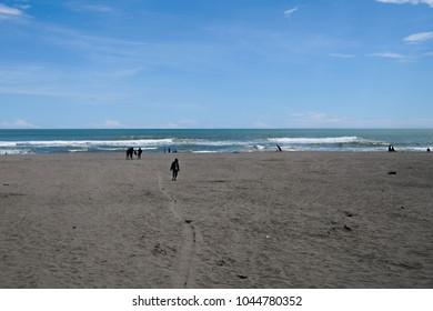 Minimalis of Tropical Beach, located at Parangtritis Yogyakarta