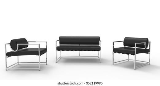 Minimalist Furniture Set 2