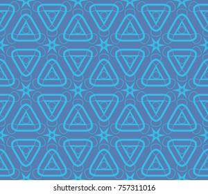 Minimalist geometric seamless background. For digital paper, textile print, page fill. illustration