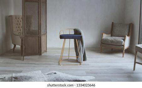Minimalist style living room/bedroom/studio