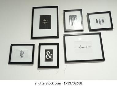 minimalist wall design that matches a minimalist home