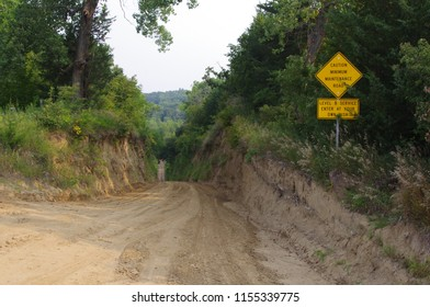 Minimum Maintenance Road-Rural USA