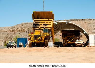 Mining Dump Truck Maintenance